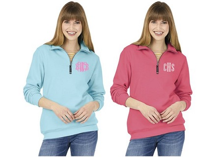 Charles River Crosswind Quarter Zip Sweatshirt